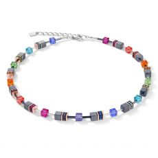 Coeur De Lion Geo Cube Multi Necklace
