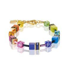 Coeur De Lion Rainbow Geocube Bracelet