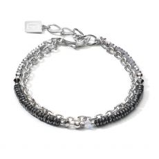 Coeur de Lion Silver Bracelet