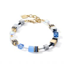 Coeur De Lion Blue/Gold Bracelet