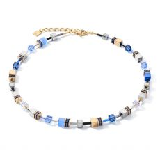 Coeur De Lion Blue/Gold Necklace