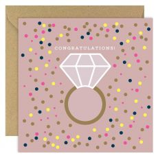 Congratulations! Engagement Greeting Card