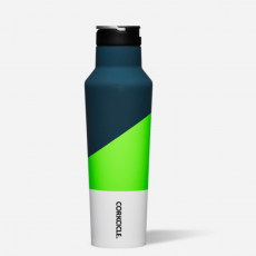 Corkcicle Electric Green Water Bottle