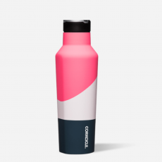 Corkcicle Electric Pink Water Bottle