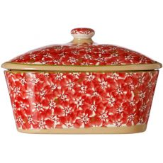 Nicholas Mosse Butter Dish Lawn Red