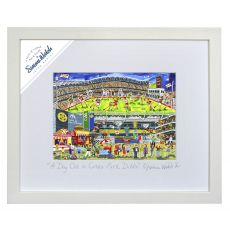 "Simone Walsh Framed 'A Day Out in Croke Park' 16"" x 20"""