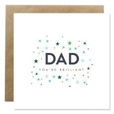 Dad You're Brilliant Card