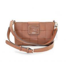 Guess Liberty City Cognac Shoulder Bag