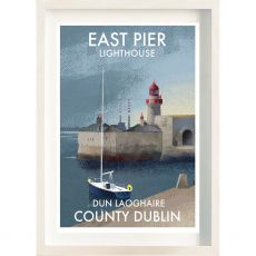 The Ireland Posters Store Dun Laoghaire East Pier Frame