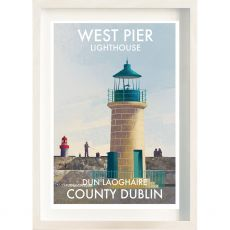 The Ireland Posters Store Dun Laoghaire West Pier Frame