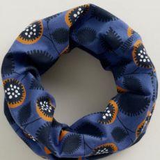 Sea Salt Embellished Flower Wild Pansy Headband