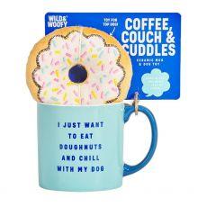 Wild & Woofy Mug and Toy - Doughnut