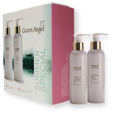 Green Angel Summer Set (200ml Body Lotion & Argan Oil)