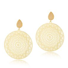 Scribble & Stone Moroccan Disc Earrings