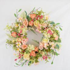 Enchante Blush Garden Floral Wreath