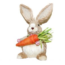 Enchante Country Medium Bunny with Carrot