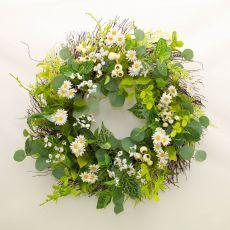 Enchante Daisy Hedgerow Wreath