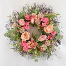 Enchante Peony & Rose Floral Wreath