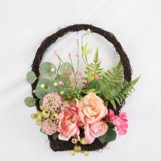 Enchante Peony & Rose Wall Decor