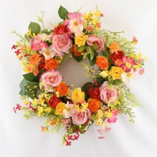 Enchante Summer Burst Floral Wreath