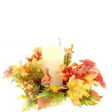 Enchante Woodland Fall Candle Wreath