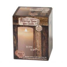 Enchante Flickering Flame Candle 10cm