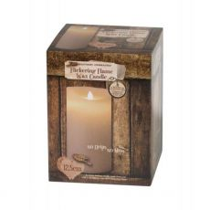 Enchante Flickering Flame Candle 12.5cm