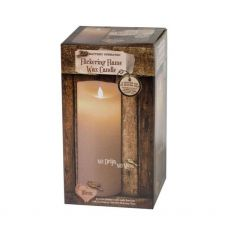Enchante Flickering Flame Candle 18cm