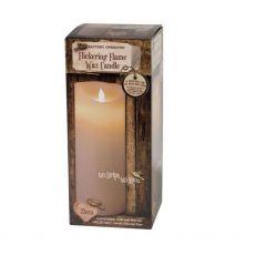 Enchante Flickering Flame Candle 23cm