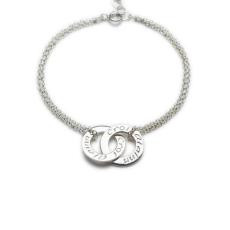 Enibas Croí Álainn Double Bracelet Silver