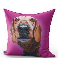 Eoin O'Connor Mutz Cushion - Puppy Love
