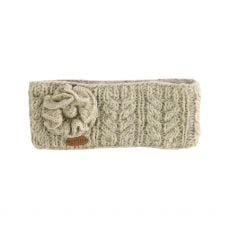 Erin Aran Cable Oatmeal Headband