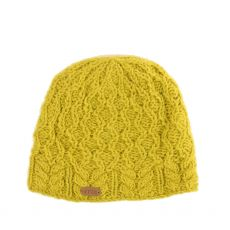 Erin Aran Diamond Yellow Pullon Hat