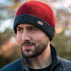 Erin Knitwear Crochet Mens Turn Up Hat