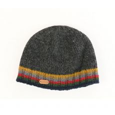 Erin Rib Men's Charcoal Pullon Hat