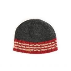 Erin Rib Men's Red Pullon Cap