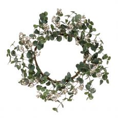 Eucalyptus White Berry Door Wreath