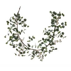 Eucalyptus White Berry Garland