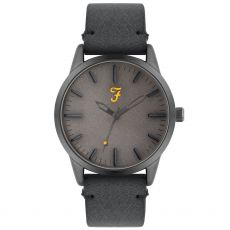 Farah The Classic Blue Satin Gents Watch