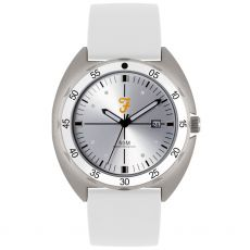 Farah The Sport Gents White Watch