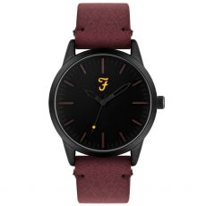 Farah The Classic Gents Burgundy Watch