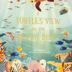 A Turtles View Of The Ocean Blue