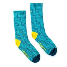 Irish Socksiety Feck it Turquoise Socks, Front socks photo
