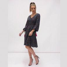 Fee G Abstract Print Dress