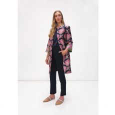 Fee G Navy EdgetoEdge Coat
