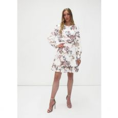 Fee G Paisley White Lace Dress