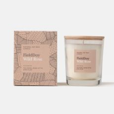 Field Day Wild Rose Large Candle
