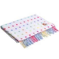 Foxford Baby Multi Spot Blanket