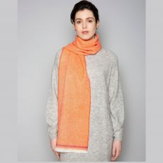 Foxford Flame and Tomato Scarf
