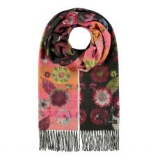 Fraas Charcoal Faded Cashmink Scarf